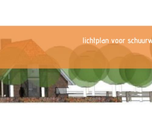 Lichtplan nieuwbouw boerderij