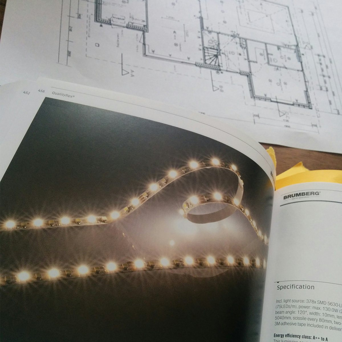 Lichtplan Bemaux interieurstyling planning